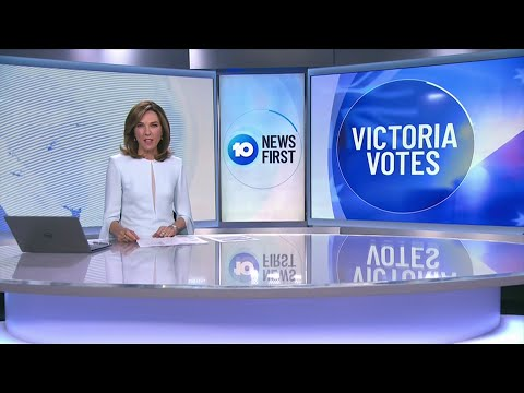 10 News First - 9:40pm Victorian Election Special (24 November 2018)