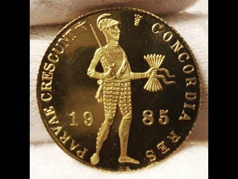 Netherlands gold Ducat