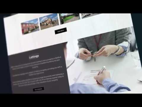 Estate Agent website design - by Milton Keynes web design agency Red Giraffe
