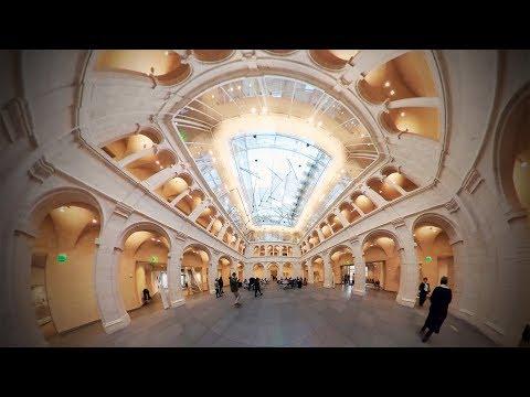 Harvard through Drew Faust's eyes: Harvard Art Museums | 360° video