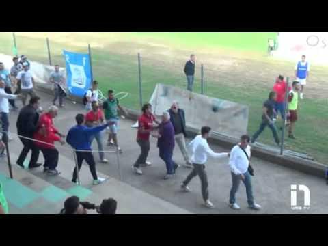 Italian Stadium Fight