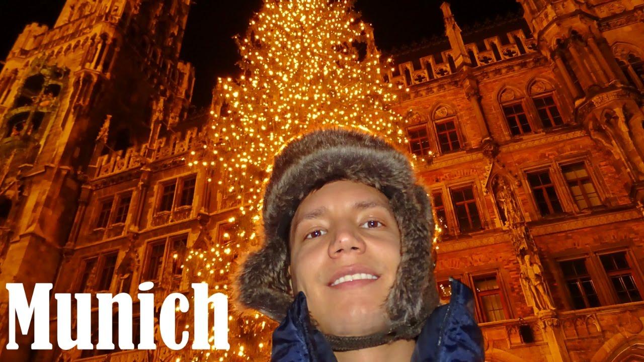 Paseo Por Munich En Navidad Alemania Ep 33 Youtube