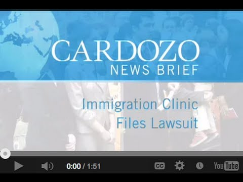 Immigration Justice Clinic Files Lawsuit