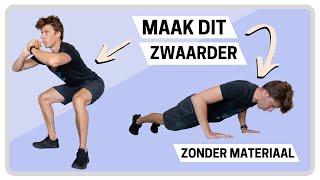 Hoe maak je oefeningen met lichaamsgewicht zwaarder? 4 Tips screenshot 5