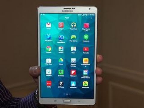 Samsung Galaxy Tab S: Premium Android tablet line has Apple's iPads in its sights