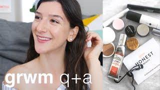 GRWM Q+A | Clean, Green, Beauty
