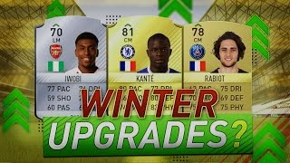 FIFA17 DISCUSSION!? WHICH PLAYERS SHOULD HAVE AN UPGRADE?