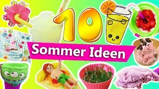 10 tolle DIY Ideen für den Sommer   Super coole DIY Ideen für den Sommer   10 Ideen gegen Langeweile