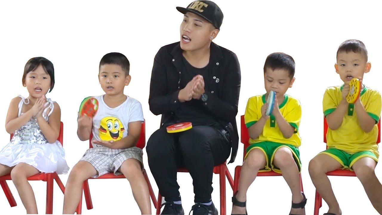 NTN – Thử Đi Học Lại Trường Mầm Non ( Study at school with 5year olds children )