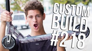 Custom Build #218 (ft Tyler Chaffin) │ The Vault Pro Scooters