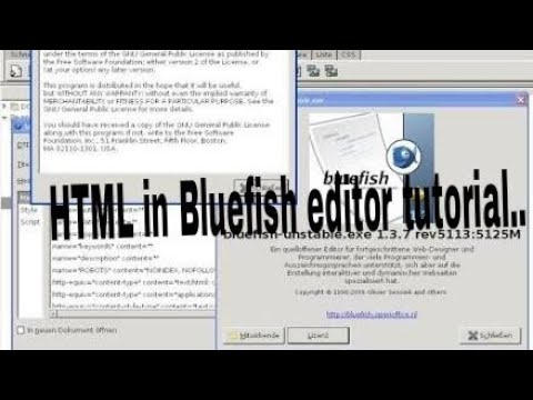 [HTML] IN BLUE FISH EDITOR....