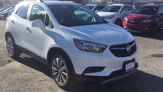 2019 Buick Encore FWD 1.4L Turbocharge White Oshawa ON Stock #190326
