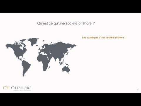 Qu'est ce qu'une société offshore ?   CSI Offshore