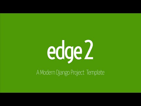 Edge v2 - Django Project Template