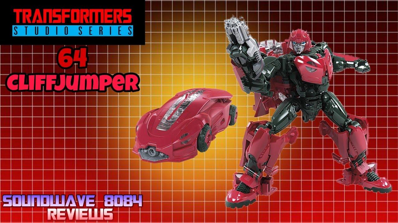 Transformers Studio Series 64 Cliffjumper Review By Soundwave 8084