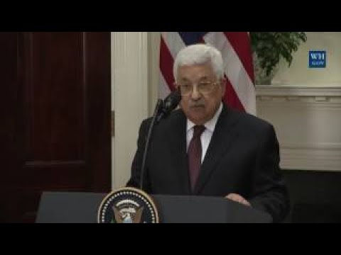 President Trump has a Joint Press Conference with Palestinian President Abbas That Stuns E