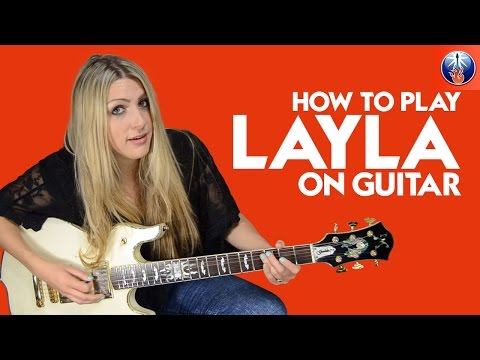 How to Play Layla On Guitar - Eric Clapton's Layla Intro Guitar Lesson