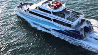 34m Catamaran Passenger Ferry - Ava Pearl - designed by Incat Crowther