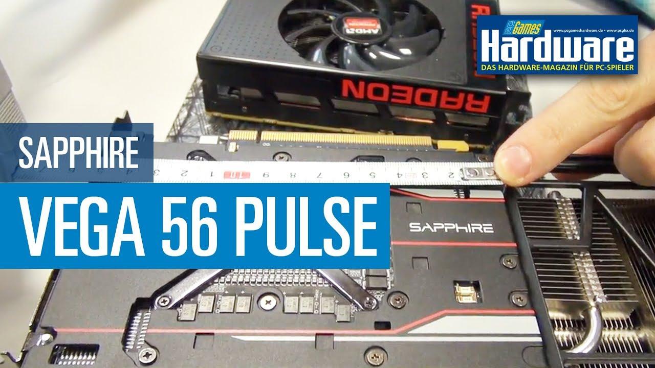 Sapphire Radeon RX Vega 56 Pulse - Vega mit Nano-PCB