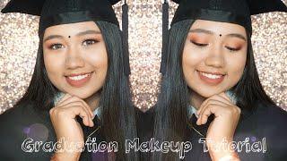 Graduation Makeup Tutorial | Rosy Makeup Look | Do's & Dont's | DaintyDashBeauty Mp3