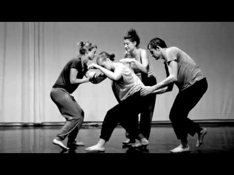 Danse contact-improvisation proprioceptive Ingrid Bizaguet Mouvement Contemporain