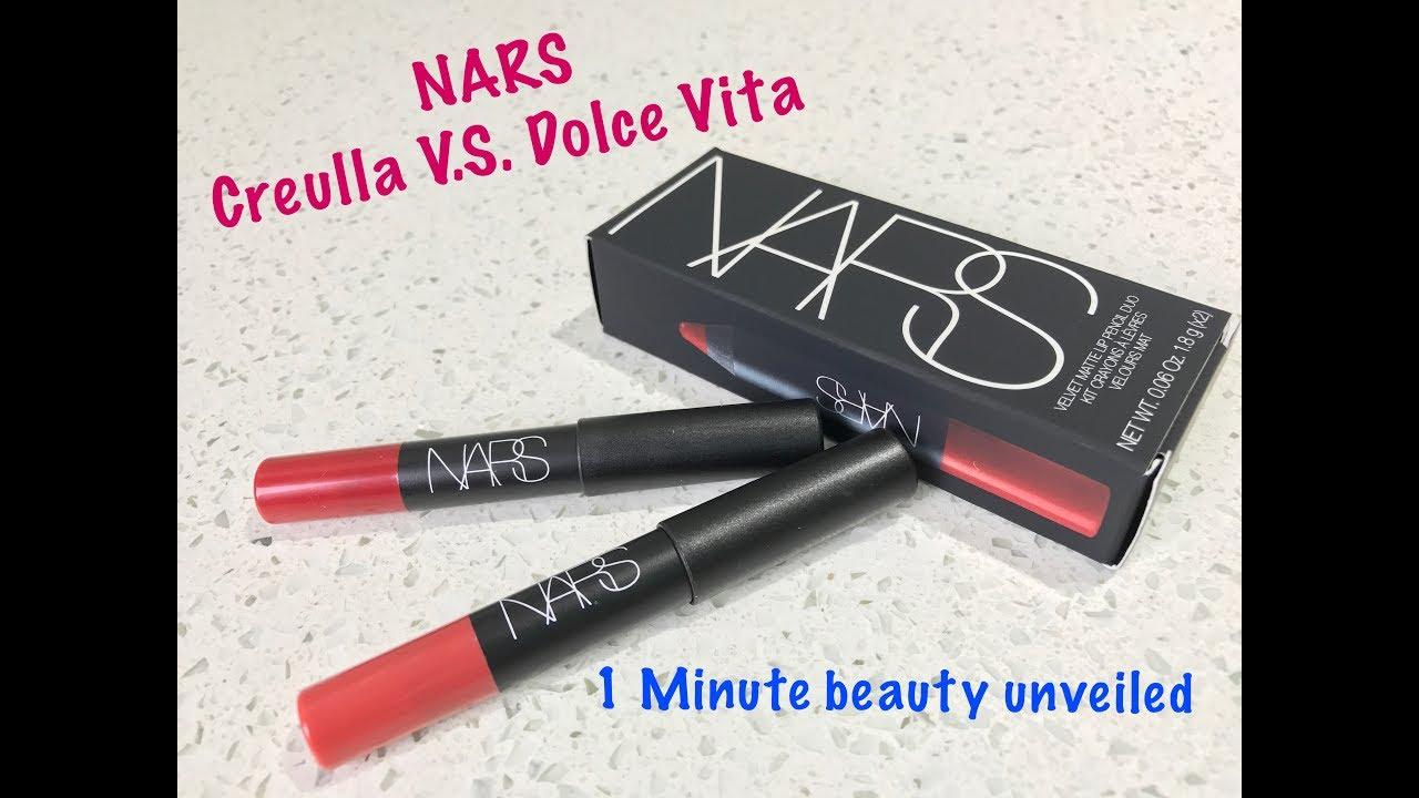 1 Minute Beauty Unveiled~NARS Velvet Matte Lip Duo Cruella ...  1 Minute Beauty...