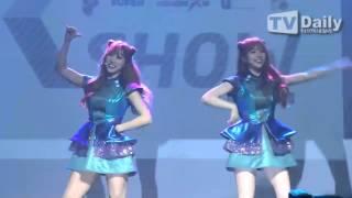 [tvdaily] ★코코소리★ 고양이 연상케 하는 깜찍한 '절묘해' 무대 - Stafaband