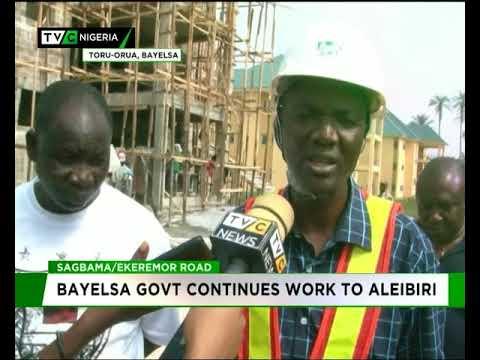 Sagbama/Ekeremor road : Bayelsa government continues work to Aleibiri