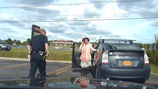 Ulster town officials release video of county Legislator Jennifer Schwartz Berky's traffic stop