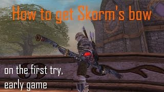 How to get Skorm's bow easy in one try, Early game - Fable tlc