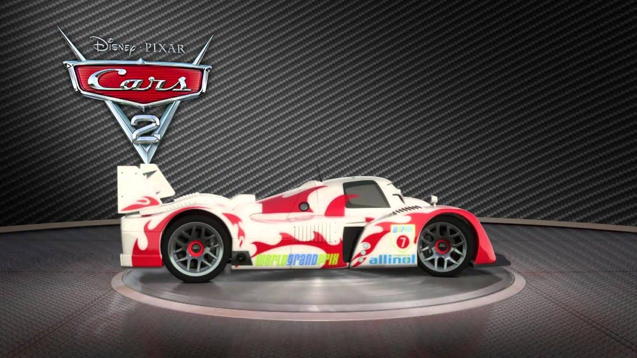 Cars 2 - Shu Todoroki - YouTube