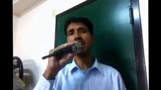 Bane chahe dushman film dostana song cover by shehzad zameer