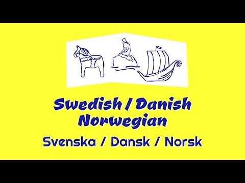 Swedish, Danish And Norwegian