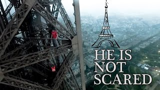 Man Who Climbed Eiffel Tower