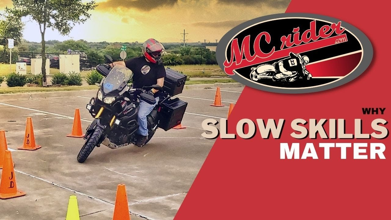 Master this skill on your motorcycle.