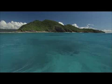 [10 Hours] Tropical Boat Ride [HD] SlowTV