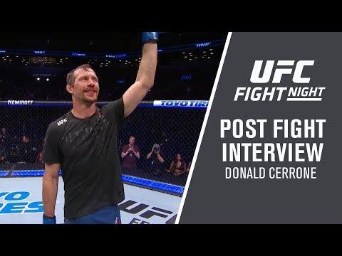 "Fight Night Brooklyn: Donald Cerrone - ""I Would Love to Fight Conor"""