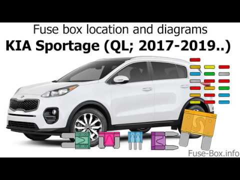 Fuse box location and diagrams: KIA Sportage (QL; 2017-2019 ... Kia Sportage Fuse Box Diagram on 2010 dodge ram 1500 fuse box diagram, 2010 jeep grand cherokee fuse box diagram, 2010 dodge ram 2500 fuse box diagram, 2010 dodge ram 3500 fuse box diagram, 2010 land rover lr2 fuse box diagram, 2010 jeep wrangler fuse box diagram, 2010 ford e150 fuse box diagram,