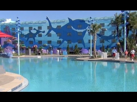 Finding Nemo Pool Underwater Sounds At Disney 39 S Art Of Animation Resort Youtube