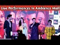 Varun Dhawan | Kriti sanon | Performed  On Aira Gaira Song In Ambience Mall gurugram