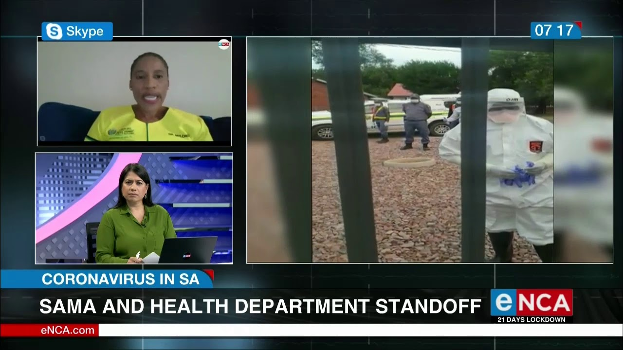 SA Medical Association and Limpopo Health Department standoff - eNCA