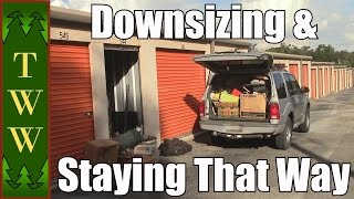 RV Living: Downsizing & The Struggles to Stay That Way