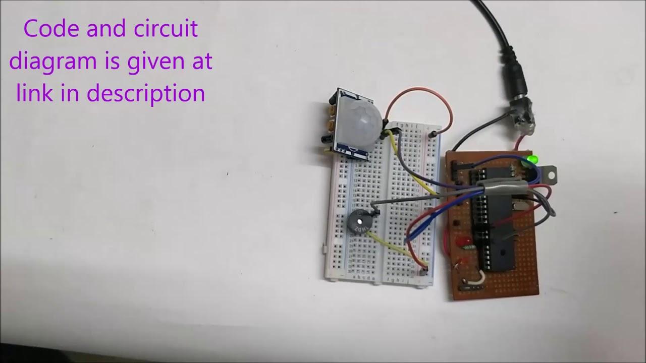 Interfacing Pir Sensor With Pic Microcontroller Youtube Pirsensorinterfacecircuitdiagram Circuit Digest