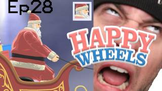 Christmas Happy Wheels w/ FLuffee - Ep28 - Santa Clause is Still a Fat Bitch...