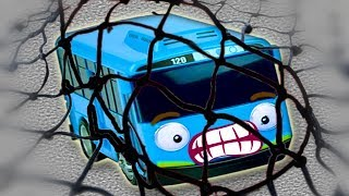 Tayo The Little Bus & Disney Cars 3   Tayo Is In The Fishing Net ...