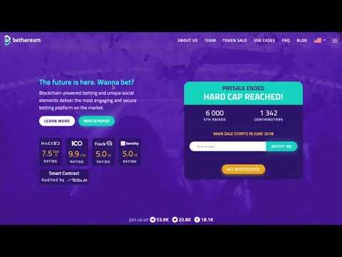 1000$ GIVEAWAY+Bethereum-Betting platform already LIVE!