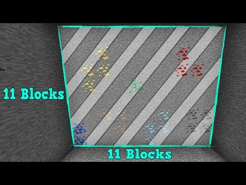 11x11 HUL PÃ… 1 SEKUND!? Dansk Minecraft