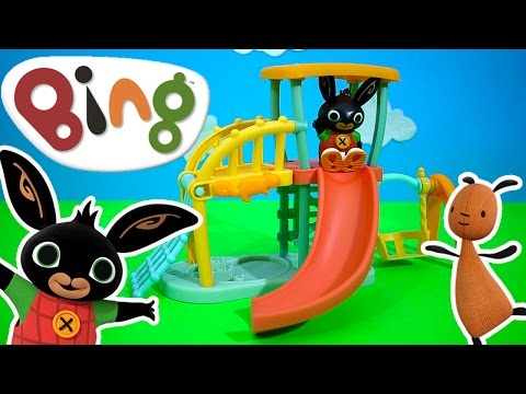 Bing Bunny Cbeebies Playground Toy Unboxing | Kids Play O