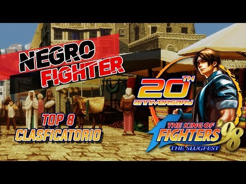Negro Fighter The King Of Fighter 98 20Th Anniversary