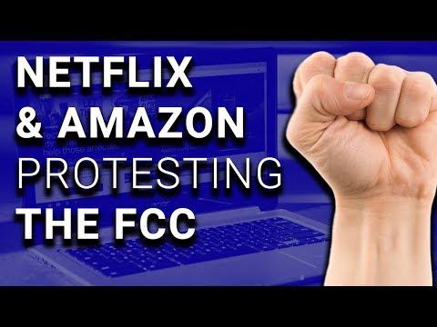 Amazon, Netflix Reddit Protesting for Net Neutrality TODAY!